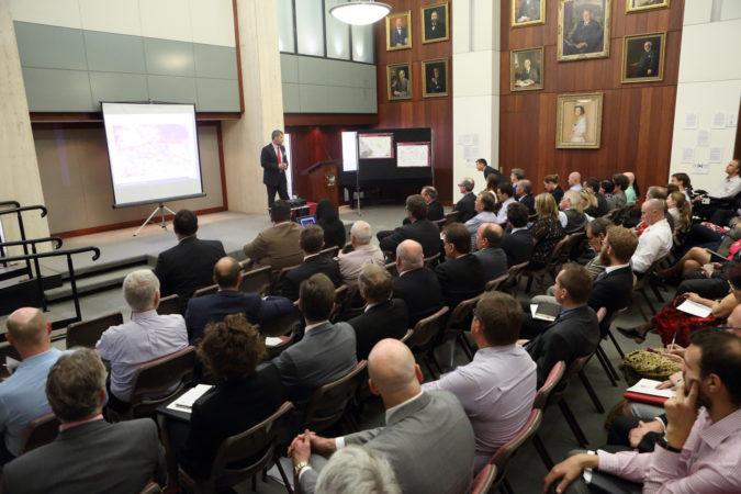 GISERA Director briefing key stakeholders
